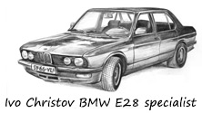Ivo Christov BMW E28 specialist